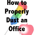 How to Properly Dust an Office